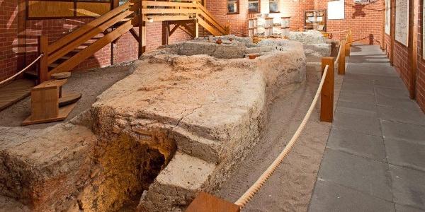 Römische Brennöfen im Terra Sigillata Musuem