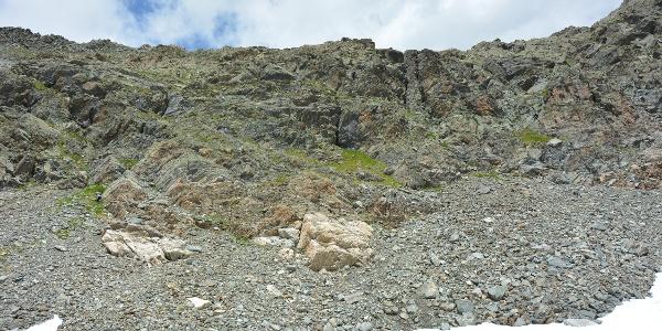 Aufstieg Richtung Vertineskopf