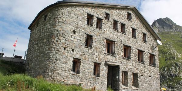 Aus Steinen aus der Umgebung gebaut