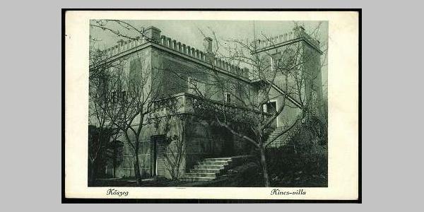 A Kincs villa egy korabeli képeslapon