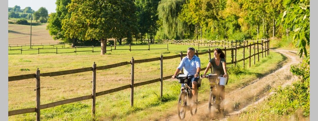 Entspanntes Radeln im Selztal bei Groß-Winternheim