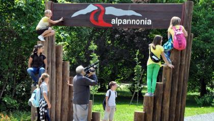 alpannonia túra- és szabadidőpark bejárata