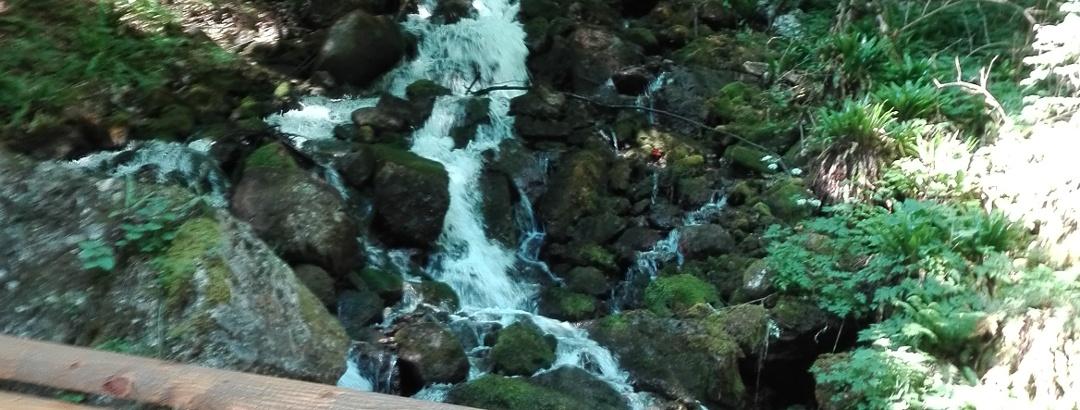 La cascata dell'Ert