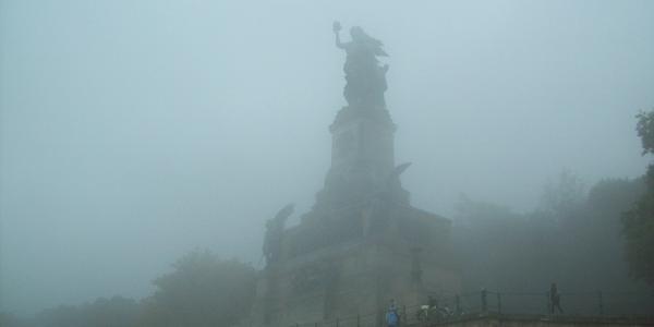 Die Victoria als Niederwalddenkmal zur Erinnerung an Deutsch-Französische Kriege