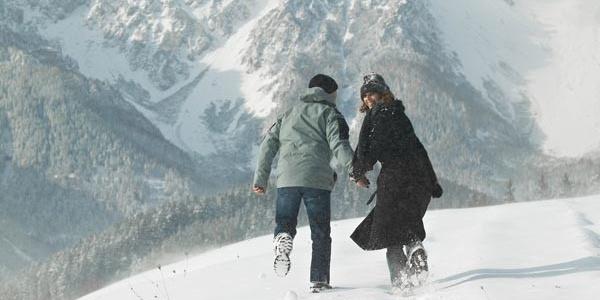 Wanderung am Fuße des Schneeberges