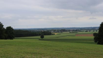 Sicht vom Georgiberg Richtung Osten nach Gutenberg