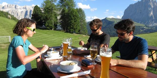 Abendessen mit herrlichem Panorama