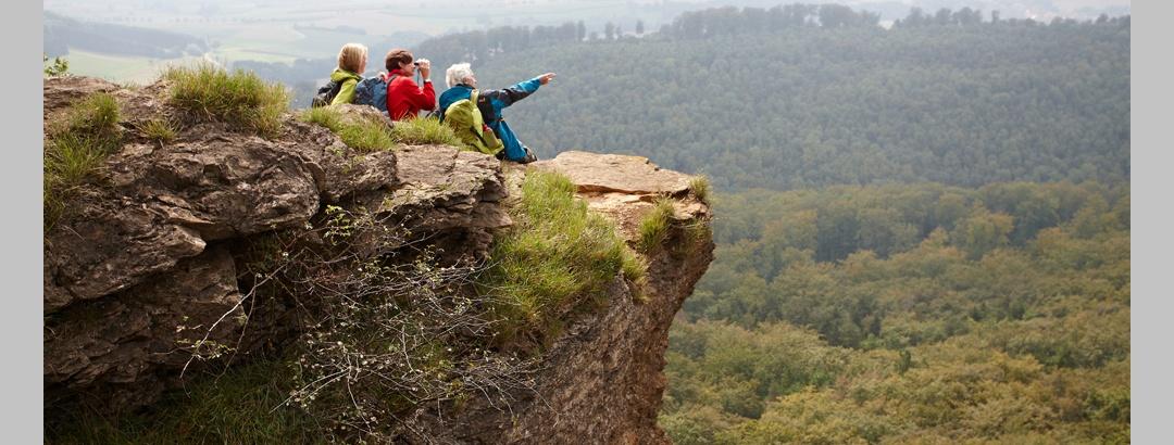 Aussicht von den Hohensteiner Klippen