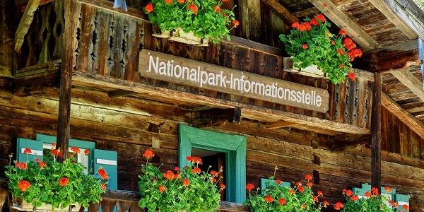 Klausbachhaus: Nationalpark-Infostelle am Hintersee