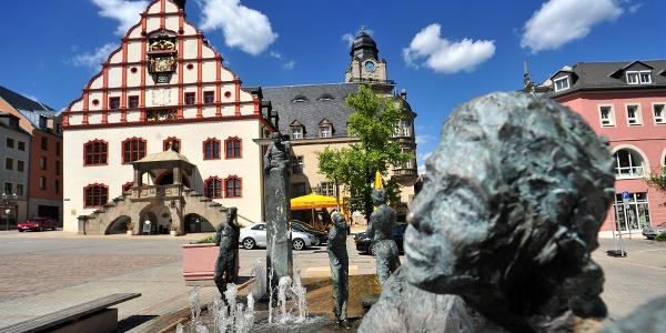 Brunnen mit Altmarkt