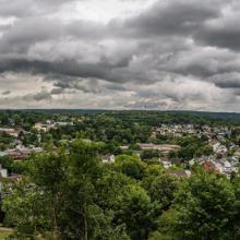 Panorama über Siegburg