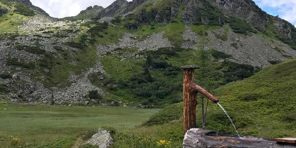 Anstieg zur Oberseehütte