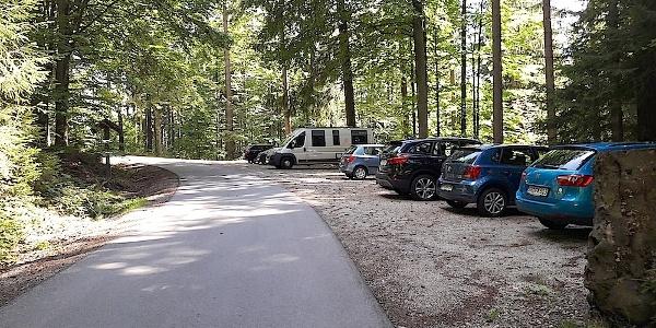 Wanderparkplatz Martinsklause