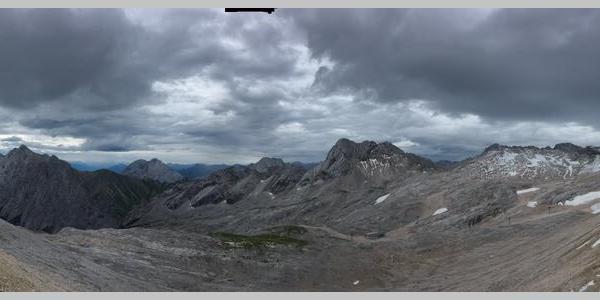 Bergpanorama Zugspitz-Blatt