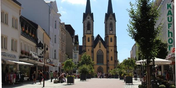 Altstadt Hof mit St. Marien