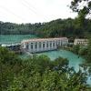 Das Flusskraftwerk Mühleberg. Vor genau 100 Jahren wurde mit dem Bau begonnen und er dauerte bis 1920.