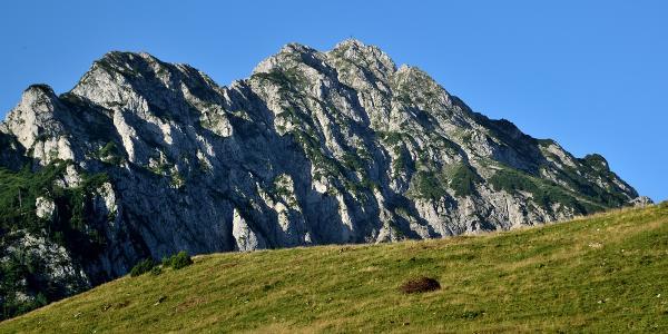 Der Bosruck-NO-Grat von der Bosruckhütte aus gesehen