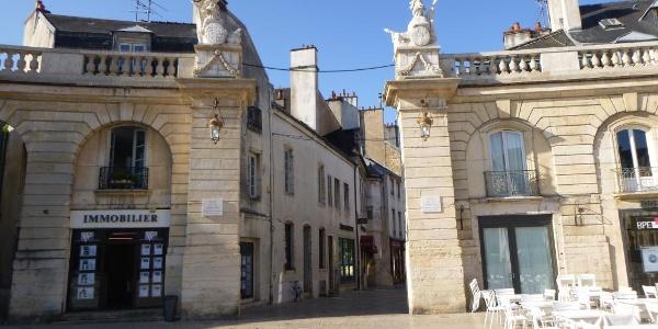 Exit from Place de la Liberation, Dijon