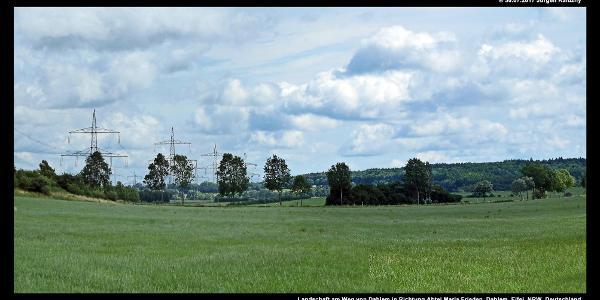 Landschaft am Weg von Dahlem in Richtung Abtei Maria Frieden