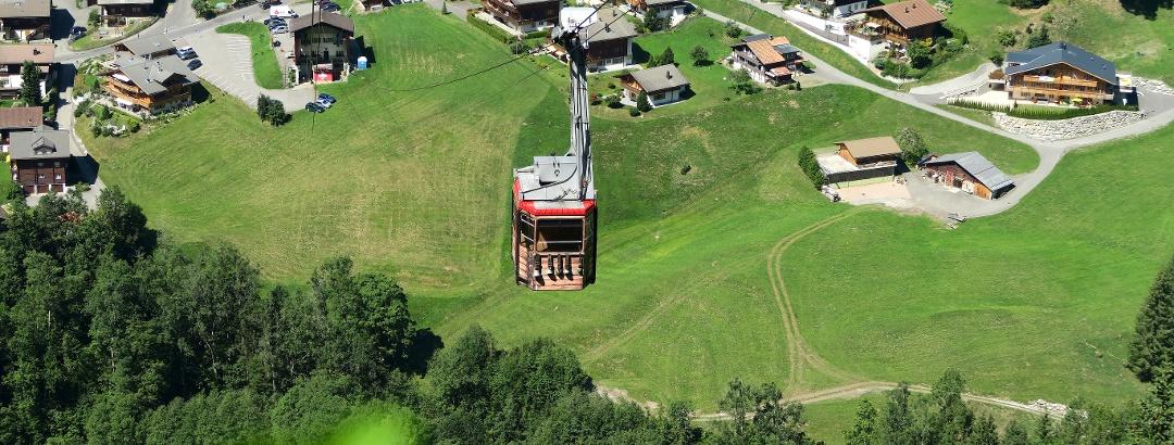 Luftseilbahn Grindelwald – Pfingstegg.