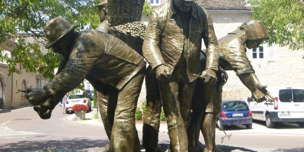Statue de Vignerons, Puligny