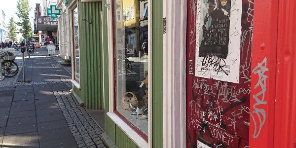 Reykjavíks Straßen sind modern, extravagant und abwechslungsreich