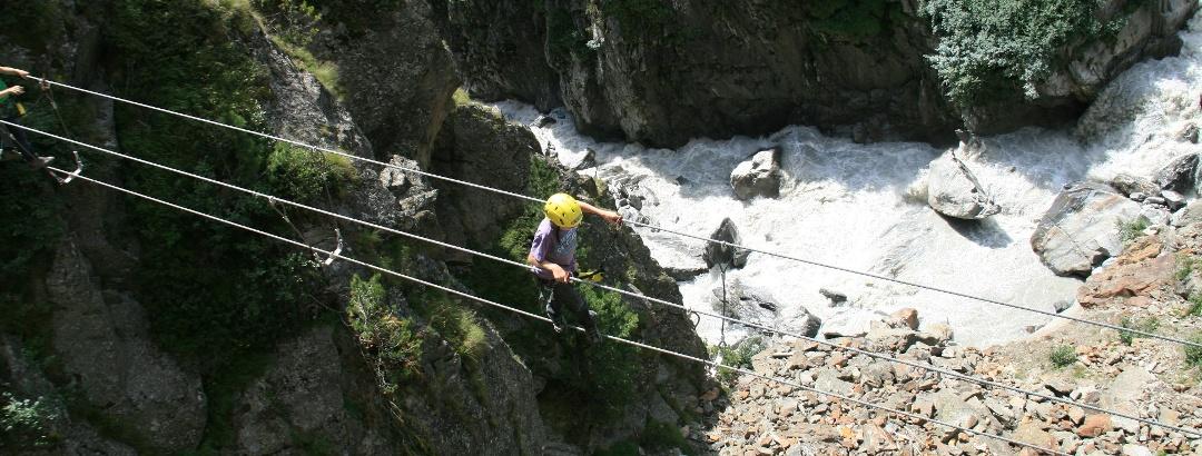 Klettersteig in der Region Obergurgl