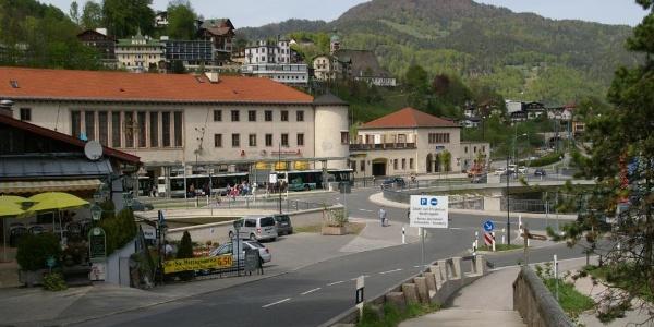 Startpunkt am Bahnhof Berchtesgaden