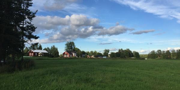 Landschaft in Finnisch-Lappland