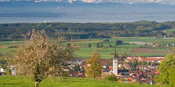 GuckinsLand Richtung Markdorf und Bodensee
