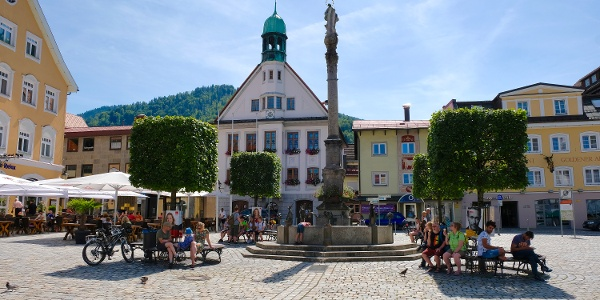 Mariensäule, Rathaus Immenstadt