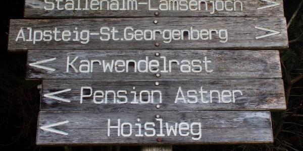 Auf den Alpsteig zur Karwendelrast