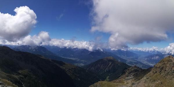 Panorama Richtung Westen