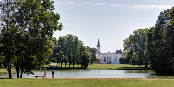 Das Brunsvik-Schloss in Martonvásár