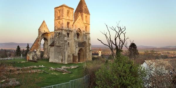 The church ruins of Zsámbék