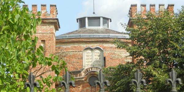 Kőszegi Zsinagóga homlokzata
