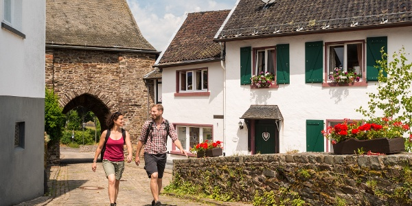 Partnerweg des Eifelsteiges: Burgen-Route (Reifferscheid)