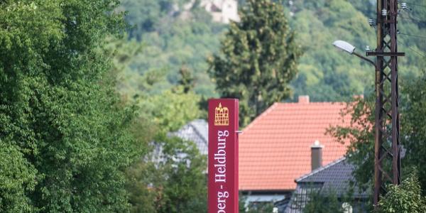 Blick auf die Veste Heldburg