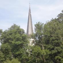 Start ab Kapelle in Kirmutscheid.