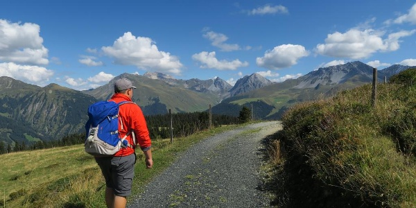 Auf dem Schanfigger Höhenweg bei Arosa.