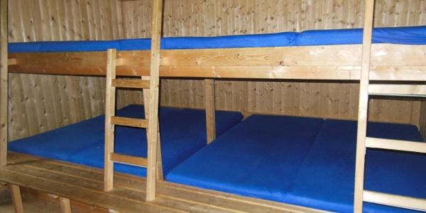 Matrazenlager (2x9 und 1x2 Lager)