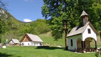Jagahäusl im Bodinggraben mit Annakapelle