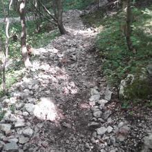 Leitergrabenabstieg