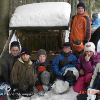 Winterferienspaß in Sayda