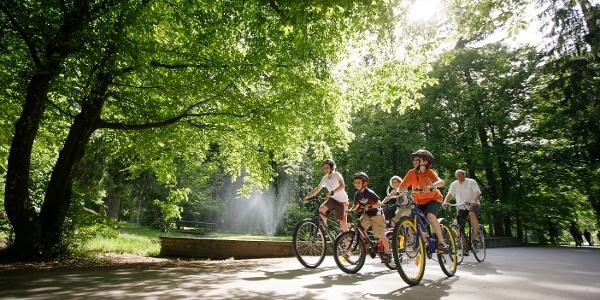 Fahrradtour mit Kindern