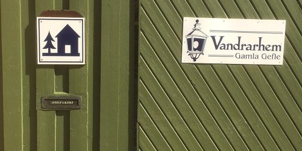 Porten till Gamla Gefle Vandrarhem
