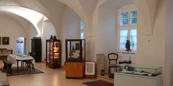 Museum im ehemaligen Festsaal des Schlosses Wolfach