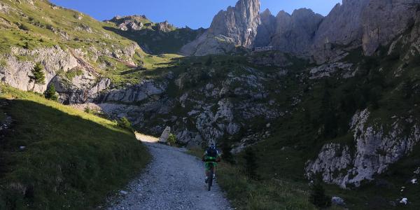 Aufstieg zum Rifugio Calvi