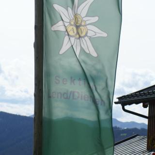 DAV Flagge bei der Erichhütte