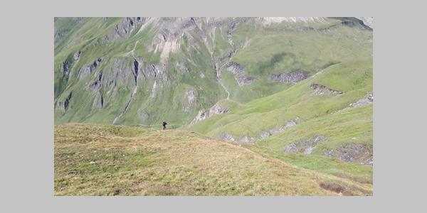 Aufstieg Wurmaulspitze